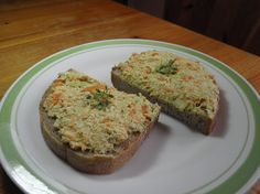tofu pomazánka plná barev Tofu, Seitan, Healthy Cooking, Baked Potato, Nom Nom, Muffin, Potatoes, Vegetarian, Baking
