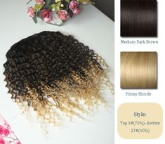 Vpfashion Customized Hair Extensions in 2014 Trendy Hair Colors brown blonde ombre hair colors, and curly hair styles Brown To Blonde, Blonde Ombre, Blonde Color, Dark Brown, Ombre Hair Color, Brown Hair Colors, Hair Extensions Before And After, Hairstyles Haircuts, Dark Hair