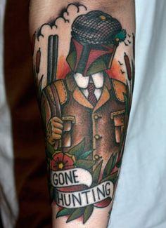 "Bobba Fett ""Goes Hunting"" tattoo (via Geeks Are Sexy)"