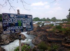 Ambesonne Waterfall Gym Bag Large Weekender Carry-on Laos Vietnamese Lake