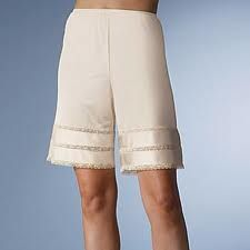 Petti Pants - ha!! I had forgotten about these.  Wore these with my culotte skirts.