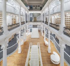 As the owner explains, the new Carturesti Bookstore in Bucharest, a 6-level construction represents an experiment of 'cultural habitation' in the ancient center of Bucharest, capital of Romania.