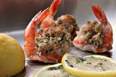 healthy baked stuffed shrimp