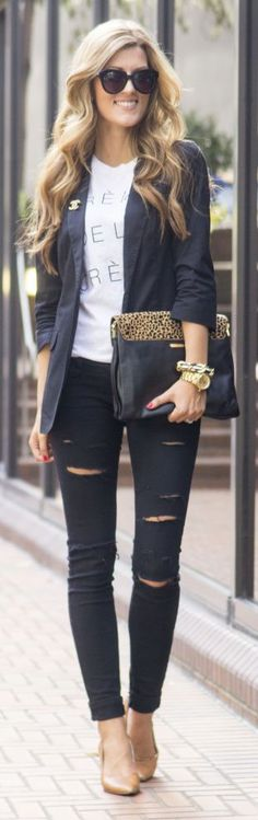 Black And White Inspired Style by Chic Street Style