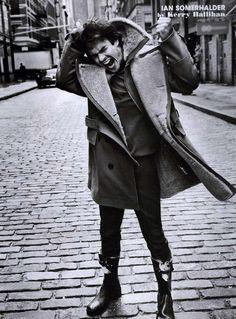 Ian Somerhalder...No matter what he does....