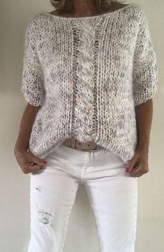 Crochet sweater vintage free knitting new Ideas Crochet Kids Scarf, Crochet Shawl, Crochet Ideas, Knit Vest Pattern, Knitting Designs, Free Knitting, Syl, Crochet Basics, Striped Cardigan