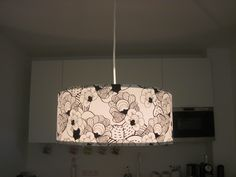 Beautiful lampshade with a design by Alexandra Bolzer via patterndesigns.com  / anna-lampe.de Decorating Your Home, Anna, Ceiling Lights, Patterns, Pendant, Beautiful, Ideas, Design, Home Decor