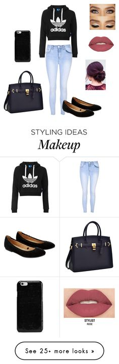 """Untitled #90"" by lydia-fabian on Polyvore featuring Glamorous, Topshop, Accessorize, Smashbox and Maison Margiela"