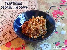 Recipe: Traditional Sesame Dressing – Goma-ae | otakufood.com // Japanese Food