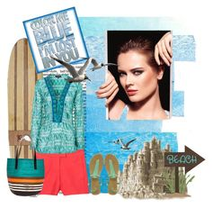 seablux by everojas on Polyvore featuring moda, Hale Bob, Theory, Oasis, Marni, Chanel and INDIE HAIR