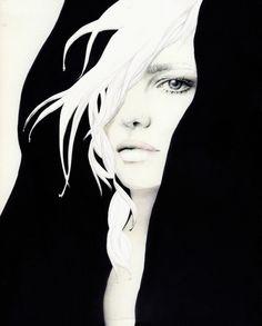 Of The Day 6/25/2011 // The lines of female form, Australian illustrator Elisa Mazzone