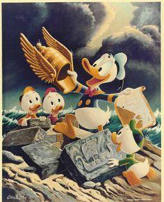 Carl Barks painting