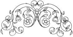 antique embroidery design
