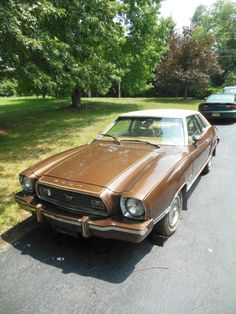 1974 Ford Mustang II Ghia 4 Speed Manual - Classic Ford Mustang 1974 for sale Ford Mustangs, Mustang Cars, Fiat 126, Engine Rebuild, Cars And Motorcycles, Mercury, Detroit, Convertible, Madness