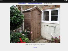 bespoke garden sentry box shed by sheds unlimited