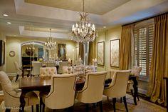 Interiors - Elegant Dining Room - Steve Long Photography