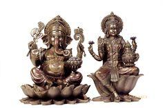 Lakshmi Ganesha statue,12.25inches, Bronze Large Ganesh Lakshmi Statue, Diwali Puja Idols, Goddess Of Wealth, Good Luck Gift, Hindu God by Shivajiarts on Etsy Lakshmi Statue, Saraswati Statue, Krishna Statue, Hare Krishna, Goddess Lakshmi, Diwali Goddess, Good Luck Gifts, Nataraja, Religious Gifts