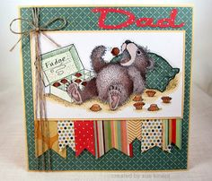 House-Mouse & Friends Monday Challenge: HMFMC146-FATHER'S DAY/MALE CARD