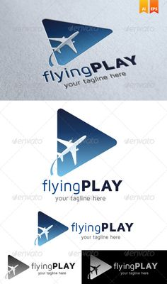 Flying Play Logo