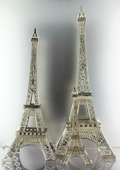 Metal Eiffel Towers - $5, $14 and $23