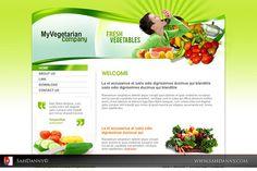 MyVegeterian Company Design websites | Flickr - Photo Sharing!