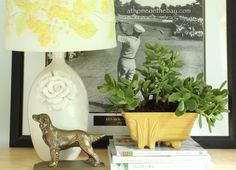 How to turn a vase into a Lamp by At Home on the Bay