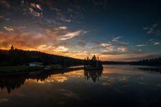 Bennett Lake Sunset by Matt Molloy on 500px