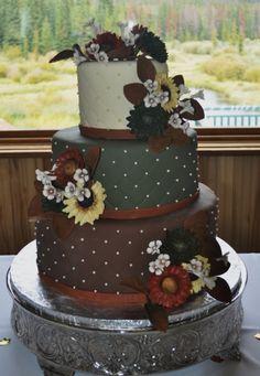 autumn wedding cake By skmaestas on CakeCentral.com