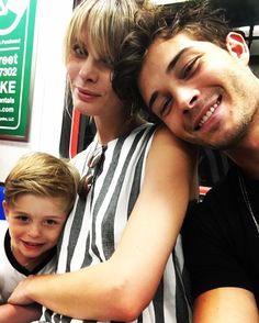 Ma famille  @lachowski_milo @chico_lachowski #LasloLachowski