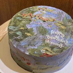 Fancy Cakes, Mini Cakes, Cupcake Cakes, Pretty Birthday Cakes, Pretty Cakes, Korean Cake, Frog Cakes, Cute Desserts, Dessert Decoration