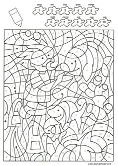 Coloring Sheets, Adult Coloring, Coloring Books, Color By Numbers, Paint By Number, Color Activities, Preschool Activities, Color By Number Printable, Teach English To Kids