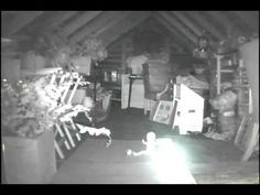 A Camera In Their Attic Caught A Ghost Actually Doing Something Spooky