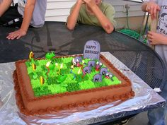 Plants Vs Zombies Cake Specialty Cakes By Gina