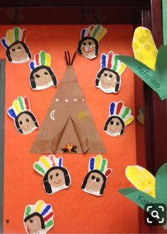 55 Best Cute Crafts for Girls Thanksgiving Crafts For Toddlers, Thanksgiving Crafts For Kids, Fall Crafts, Holiday Crafts, Pilgrims And Indians, November Crafts, Indian Crafts, Classroom Crafts, Crafts For Girls