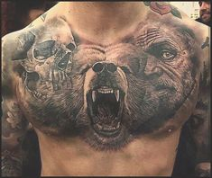 Badass Tattoos for Men - Ideas and Designs for Guys