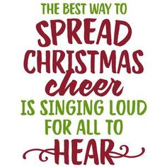 Silhouette Design Store: The Best Way To Spread Christmas Cheer Phrase
