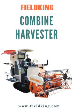 Fieldking high-performance combine harvester offers everything from all-crop versatility to specialist ability for questioning conditions. To learn more about the combine harvester price details, visit Fieldking.com. Explore combine harvester with your nearest Fieldking dealer today! Click on the image to know more. #combine #combineharvester #harvestermachine #harvesterprice #combinemachine #harvesterpriceinindia #combineharvesterprice #farming #farmmachinery #newmachinery Harvest Corn, Agriculture Machine, Combine Harvester, Farming, Explore, Image, Exploring