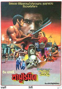 Black Samurai (thai poster)