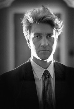"""David Lynch by Derek Ridger. """"Ideas are like fish. If you want to catch little fish, you can stay in the shallow water. But if you want to catch the big fish, you've got to go deeper. Down deep, the fish are more powerful and more pure..."""""""