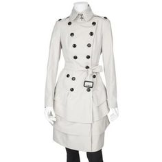 I've always wanted this trench ever since the first time I saw it on robin on HIMYM... Its burberry.