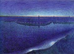 Eugene Jansson Рассвет над Риддарфьярдом