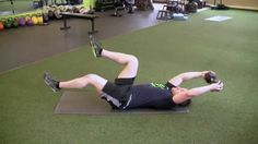 Fusion Home Fitness: Pull Over with Leg Lower