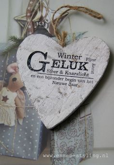 Winter Wish in Dutch Winter Christmas, Christmas Home, Christmas Crafts, Christmas Decorations, Xmas, Christmas Ornaments, Holiday, New Year Wishes, All You Need Is Love