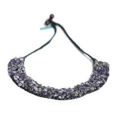 Complete Purple Amethyst Necklace #shapola_jewellery #shapola #statementjewellery #purplenecklace #statementnecklace #powerfulwoman #purpleamethyst