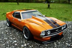 Custom Muscle Cars, Best Muscle Cars, American Muscle Cars, Custom Cars, Rubber Band Car, Amc Gremlin, Amc Javelin, Plastic Model Cars, American Motors