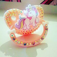 Sparkly Unicorn Adult Pacifier