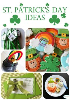 St Patricks Day celebrations on iheartnaptime.net ... so many cute ideas!