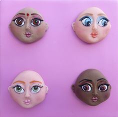 The Large Girl Face is versatile and easy to use. Suitable to create and design a range of characters for all occassions such as brides, princesses, teenage girls, fairies, fashion models etc http://www.karendaviescakes.co.uk/moulds/?p=215_Face_-_Large_by_Alice