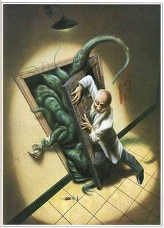Don't open that door. Cthulhu rest in!