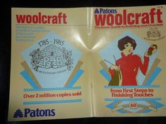 Patons WOOLCRAFT Basic Guide to Knitting & Crochet with 60 DESIGNS / PATTERNS